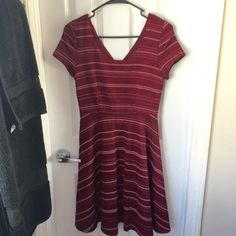 """NWOT My Party Words Dress Never worn, only tried on. This dress has a scoop neck front and a v neck back with a hidden zipper down the backside. Length is 35.5"""" ModCloth Dresses"""