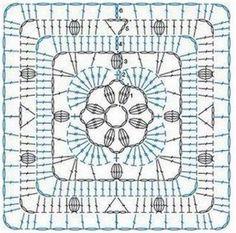 World crochet: Motif 285