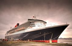 Transatlantic crossing on the Queen Mary 2.