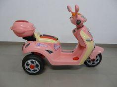 Moto-Vespa Style rosa eléctrica infantil 6 voltios. 12PKCJT518, IndalChess.com Tienda de juguetes online y juegos de jardin