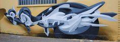 Les Graffs en 3D par Manuel Di Rita a.k.a Peeta #Art #Graffitis #3D #LosAngeles #Italien #ManuelDiRita #Peeta #Perspective #Impressive #StreetArt