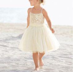 Ivory Flower Girl Dress tulle Flower Girl Dress door StunningDress, $69.99