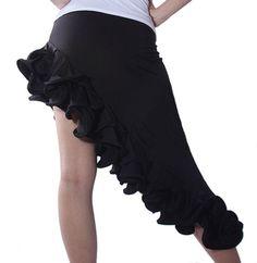 SFS007BK Brand New Ballroom Smooth Latin Tango Salsa Swing Dance Dress Skirt | eBay