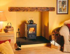 Cleanheat squirrel - cast iron multifuel stove - Morso Squirrel Stove