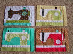 Friday Spotlight: Deana's Charming Sewing Machine Blocks — SewCanShe | Free Daily Sewing Tutorials