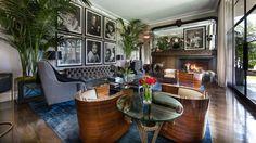 Znalezione obrazy dla zapytania glamour living room