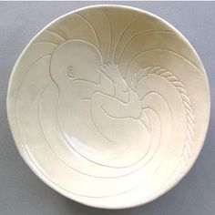 Birthing Basin This bowl was created for a friend to be used in her birthing process to catch the placenta. It is also used to adorn the offices of midwives, doulas and physicians and is a perfect gift for a future mother to honor her upcoming birth.