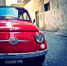 Fiat. This car is perfect for wild gesturing & the crazy driving necessary around here.
