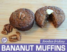 Bananut Muffins | Foodie Friday Recipes — Planima #paleo