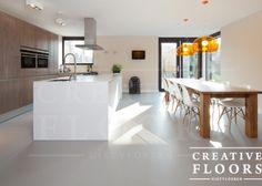 Foto's gietvloeren - CREATIVE FLOORS - Gietvloeren PU | Betonlook | Epoxy Vloeren | Cementgebonden gietvloeren | Kunststofvloeren | Minerale vloeren | Rotterdam en Drechtsteden | Zuid Holland
