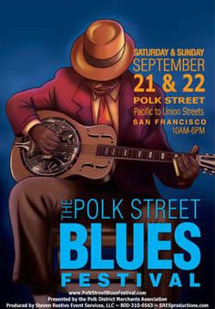 Polk Street Blues Festival 2013