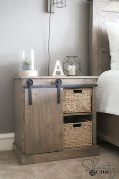 DIY Barn Door Hardware for $20 - Shanty 2 Chic
