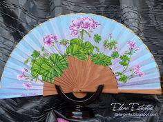 @todo color: Nostalgia Hand Fan, Nostalgia, Fans, Creative, Handmade, Color, Beautiful, Hand Fans, Painted Fan