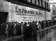 "Lining up for ""Degenerate Art"" Exhibit in Munich, 1937"