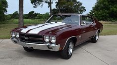 ☺1970 Chevrolet Chevelle LS6 454/450 HP, 4-Speed, Three Build Sheets presented as lot S111 at Dallas, TX 2015