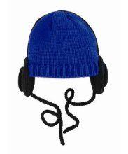 Trumpette Headphone Hat - Fuchsia / Black Adult