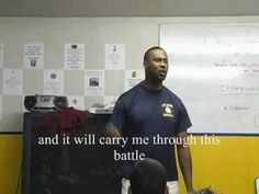 """I am a champion"" - Coach Flowers, incredible HS pregame speech"