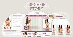 Lingerie Store Magento Theme