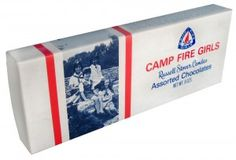 Camp Fire Girls Candy  I sold many boxes of these to pay my way to summer camp.  It's still my favorite candy.  Lots of memories.