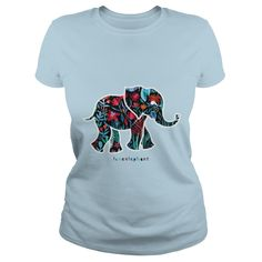 Flower elephant ==> You want it? #Click_the_image_to_shopping_now