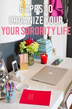 6 APPS TO ORGANIZE YOUR SORORITY LIFE (or my case my theatre life with my academic life and work)