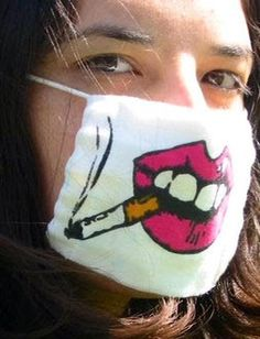 Funny Flu Masks