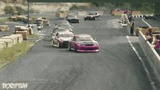 Synchronized Drifting. (it's a GIF go to the website)