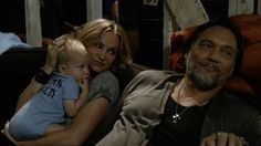 Drea de Matteo as Wendy and Jimmy Smits as Nero in 'Sons of Anarchy'