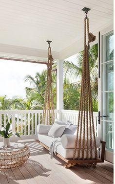 Dream Home Design, My Dream Home, House Design, Balkon Design, Backyard Patio Designs, Backyard House, Outdoor Living, Diy Home Decor, Bedroom Decor
