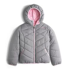 The North Face Girls' Reversible Perrito Hooded Jacket: Kids