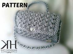 """PDF PATTERN - Crochet bag """"Chan-Elle"""""""