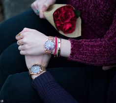 Happy Valentine's Day from Lorna Burford and Adam York! Celebrating the romantic love day with Henry London purple and rose gold watches as a couple. Love Couple Images, Cute Love Couple, Couples Images, Love Images, Beautiful Couple, Cute Muslim Couples, Romantic Couples, Cute Couples, Army Couples