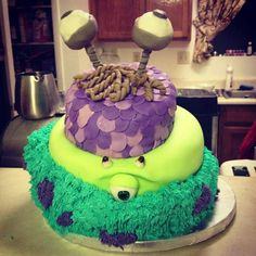 Monsters Inc Birthday Cakes