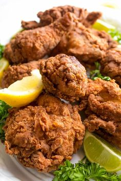 This Spicy Buttermilk Fried Chicken is crispy, juicy and seasoned to perfection. Everyone needs a favourite go-to fried chicken recipe, and once you try this one, I'm sure it'll be yours! Seafood Pasta Dishes, Baked Pasta Dishes, Chicken Pasta Dishes, Vegetarian Pasta Dishes, Best Pasta Dishes, Creamy Pasta Dishes, Italian Pasta Dishes, Beef Pasta, Oven Chicken