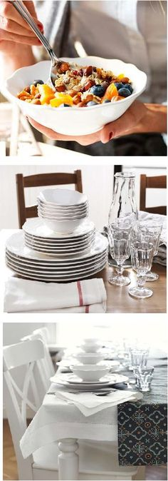 From breakfast cereals to ladies who lunch, to candlelit dinners, ARV dinnerware let's you set your table with style.