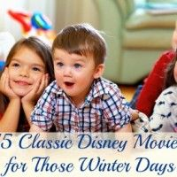 15 Classic Disney Movies for Those Winter Days