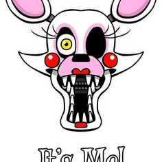 "Mangle Head. ""IT'S ME!"""