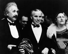 Albert Einstein and Charlie Chaplin: