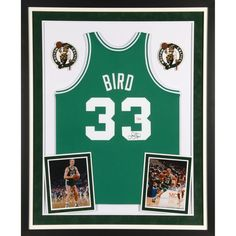 Larry Bird Boston Celtics Fanatics Authentic Deluxe Framed Autographed  Green Mitchell   Ness Authentic Jersey -  929.99 0f81f3589