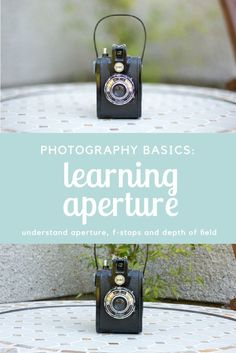 Beginner Photography Tutorial - an easy to understand guide to Aperture and depth of field for beginners! Click through to read the tutorial and get a FREE aperture cheat sheet to download and print!   Beginner Photography Tips