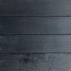 Above: Charred lumber for use as siding, fencing, decking, and flooring. Photograph via reSawn Timber Co.