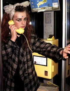 Boy George - I should totes start wearing my hair like that.