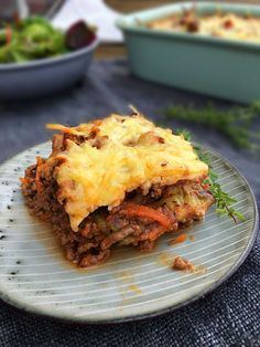 Low Carb Lasagna with eggplant and lots of vegetables. Recipe here: MyCopenhagenKitchen.com