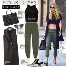 Style Diary: Gigi Hadid
