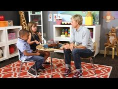 Ellen introduces kids to old technology