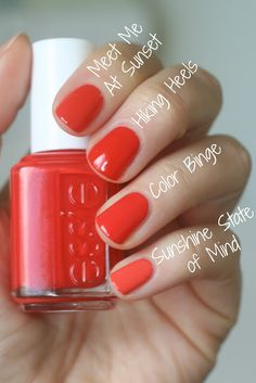Essie Summer 2016 - Viva Antigua Comparisons | Essie Envy