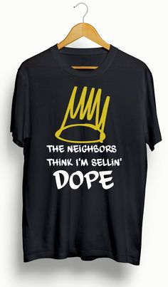 "This is a brand new, 100% cotton custom J Cole ""4 Your Eyez Only""/Neighbors T-Shirt. Made with high quality vinyl for longevity. You will not find this shirt anywhere else. True to size. Available in"