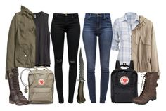"""The Winchesters"" by jlol ❤ liked on Polyvore featuring maurices, Étoile Isabel Marant, H&M, J Brand, Fjällräven, Timberland and Hailey Jeans Co."