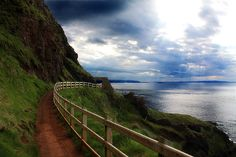 Northern Ireland's north coast is gorgeous. Especially the Giant's Causeway, pictured here.