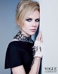 Bewitching, dazzling and beautiful Nicole. And this glove! ♥  Nicole Kidman from German VOGUE